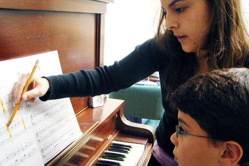 Singing Lesson In Jochberg