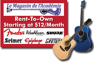 Rent an instrument: Online Music Store Montreal