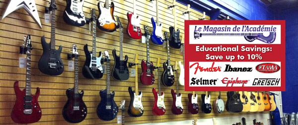 Music Store Montreal