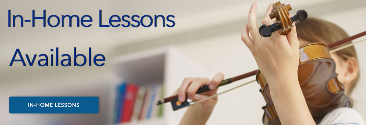 In Home Lessons Available